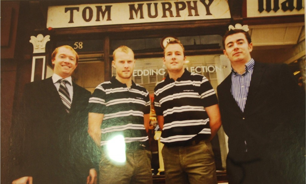 Tom Murphy, Michael Shields, James Masters and Eoin Murphy