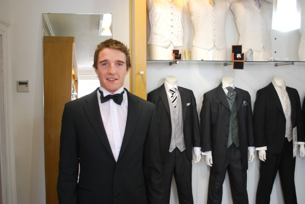 Aidan Walsh wins an All Star in a Tom Murphys Suit