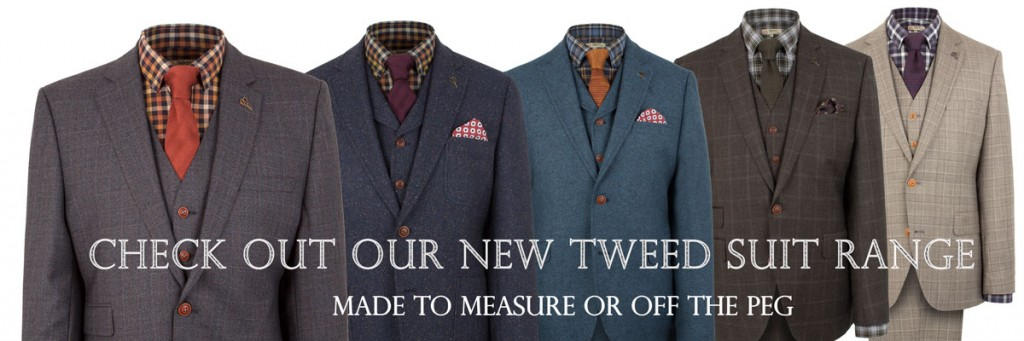 Check out our new Tweed Suit range
