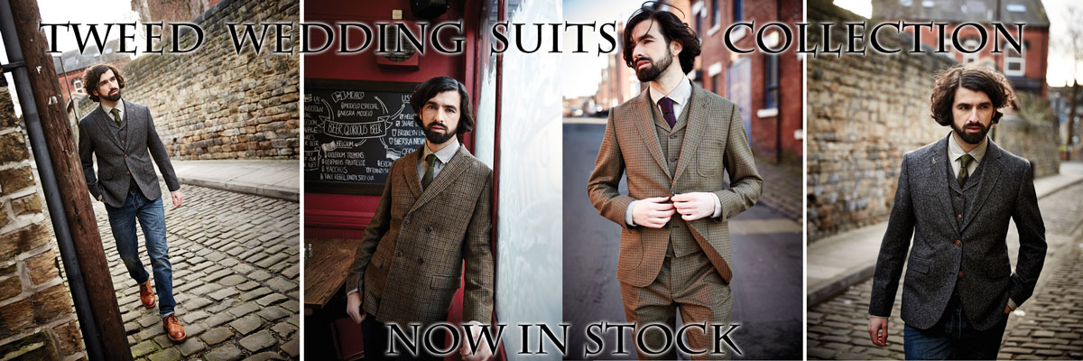 Tweed Wedding Suits Collection
