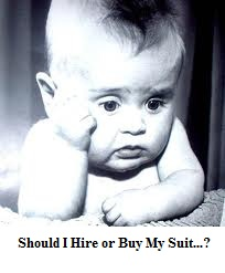 Buy or Hire a suit?