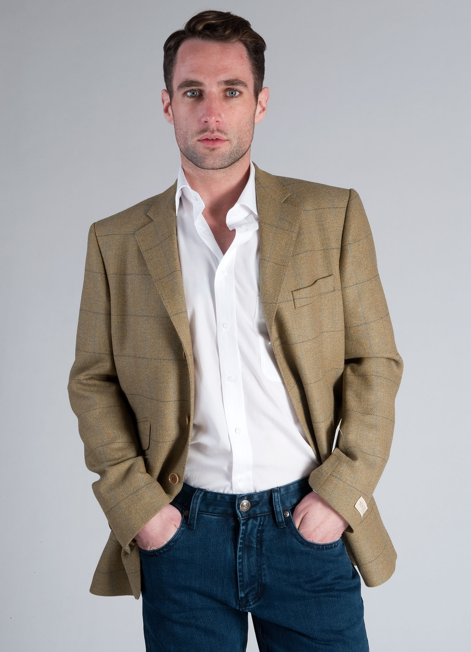 Green Check Sports Jacket - Tom Murphy's Formal and Menswear