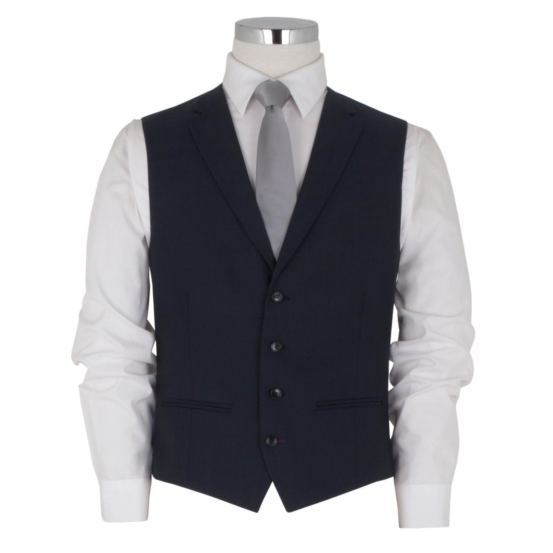 Cobalt Navy Blue Waistcoat
