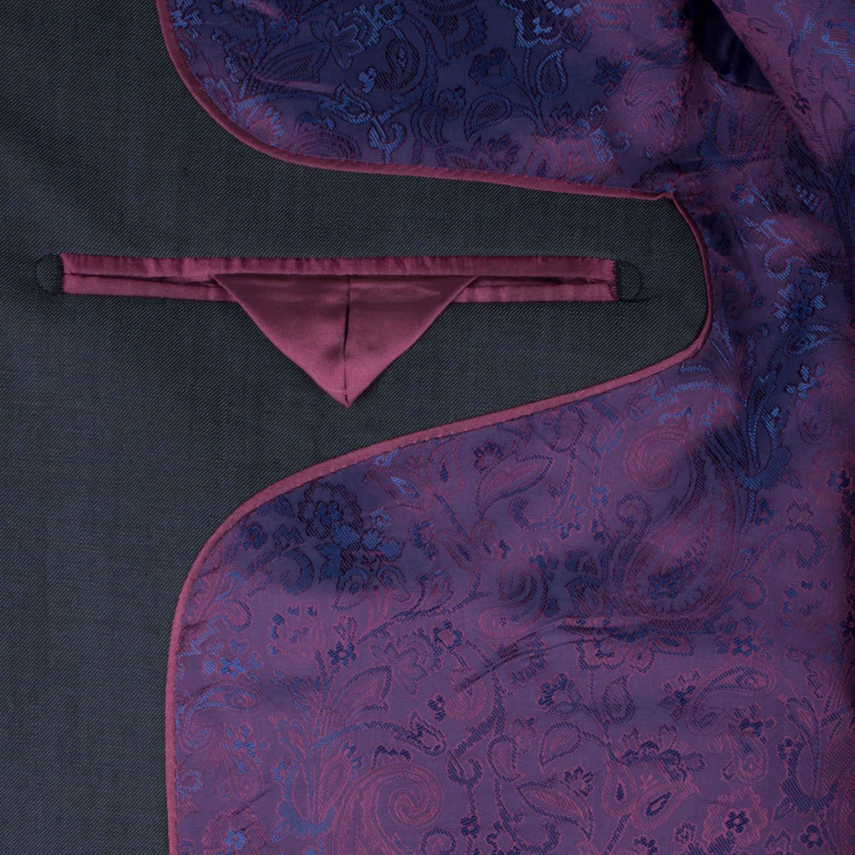 Petrol Blue Waistcoat