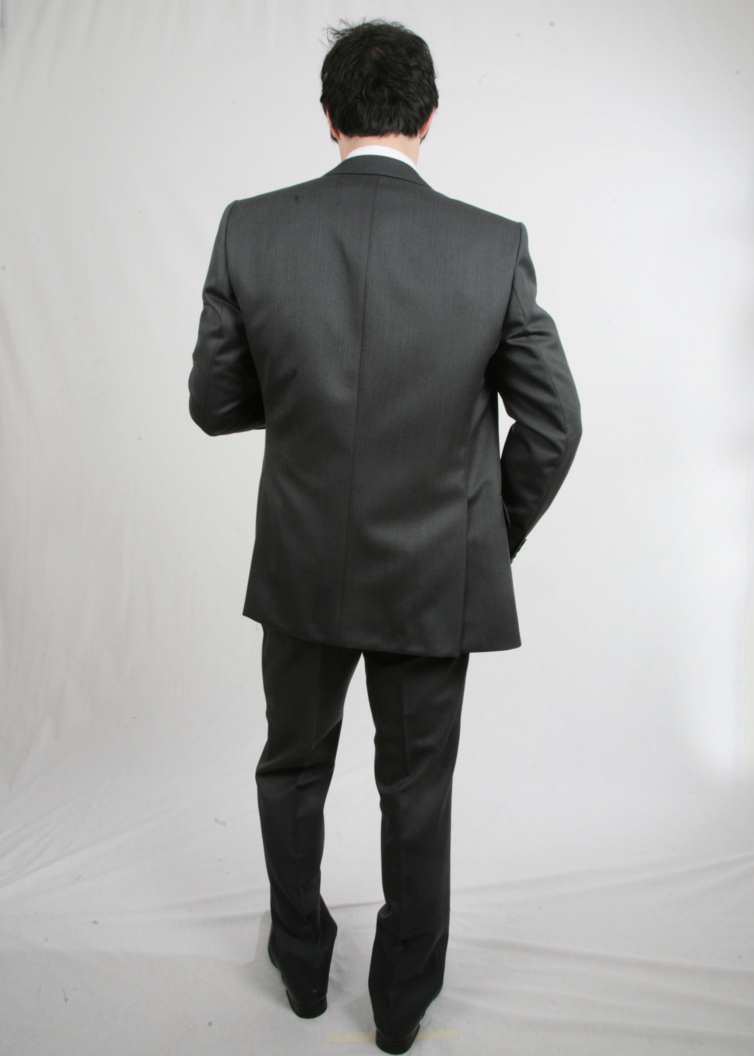 Short Grey Morning Suit Hire