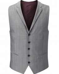 Egan Waistcoat Light Grey