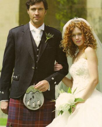 Argyll Jacket with National Pride Kilt
