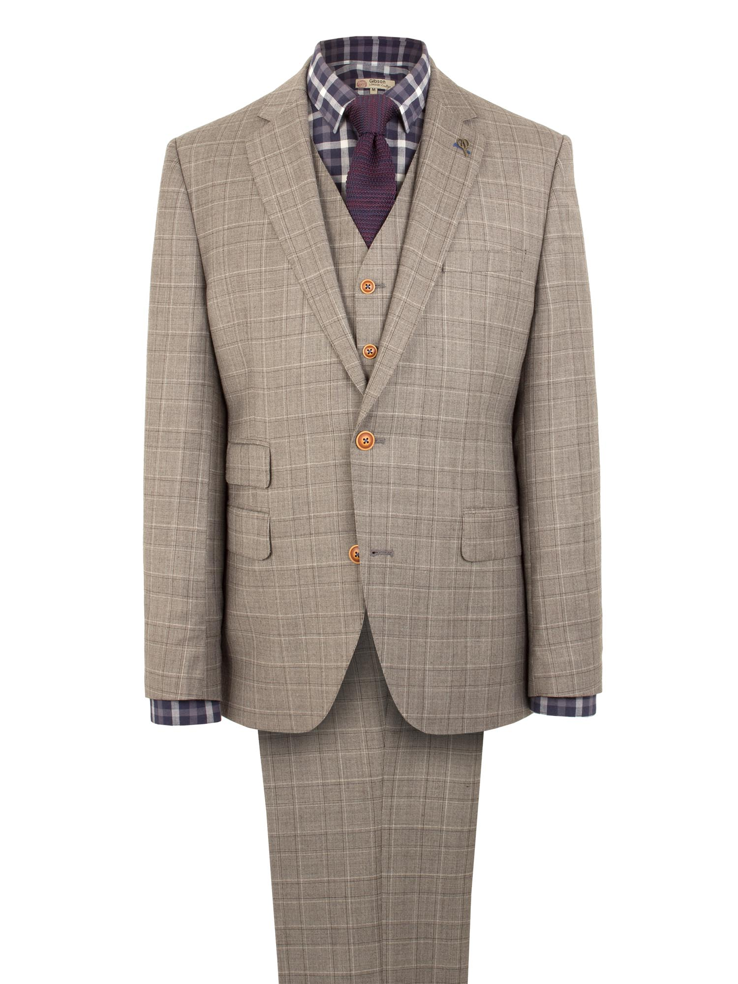 Taupe Pick N Pick Suit
