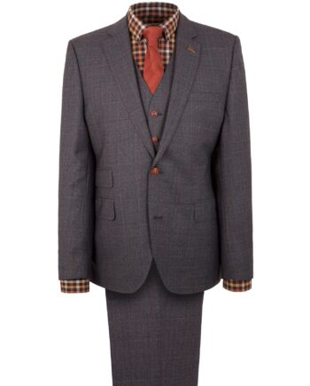 Blue Prince of Wales Check Suit