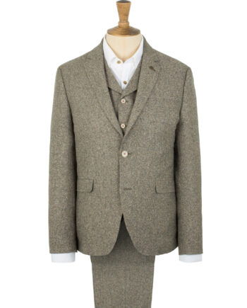 Taupe Tweed Suit