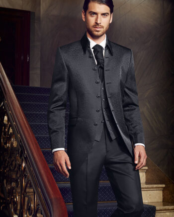 Prestige 2016 Elegant black 3 piece suit