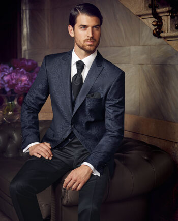 Prestige 2016 Blue Patterned suit