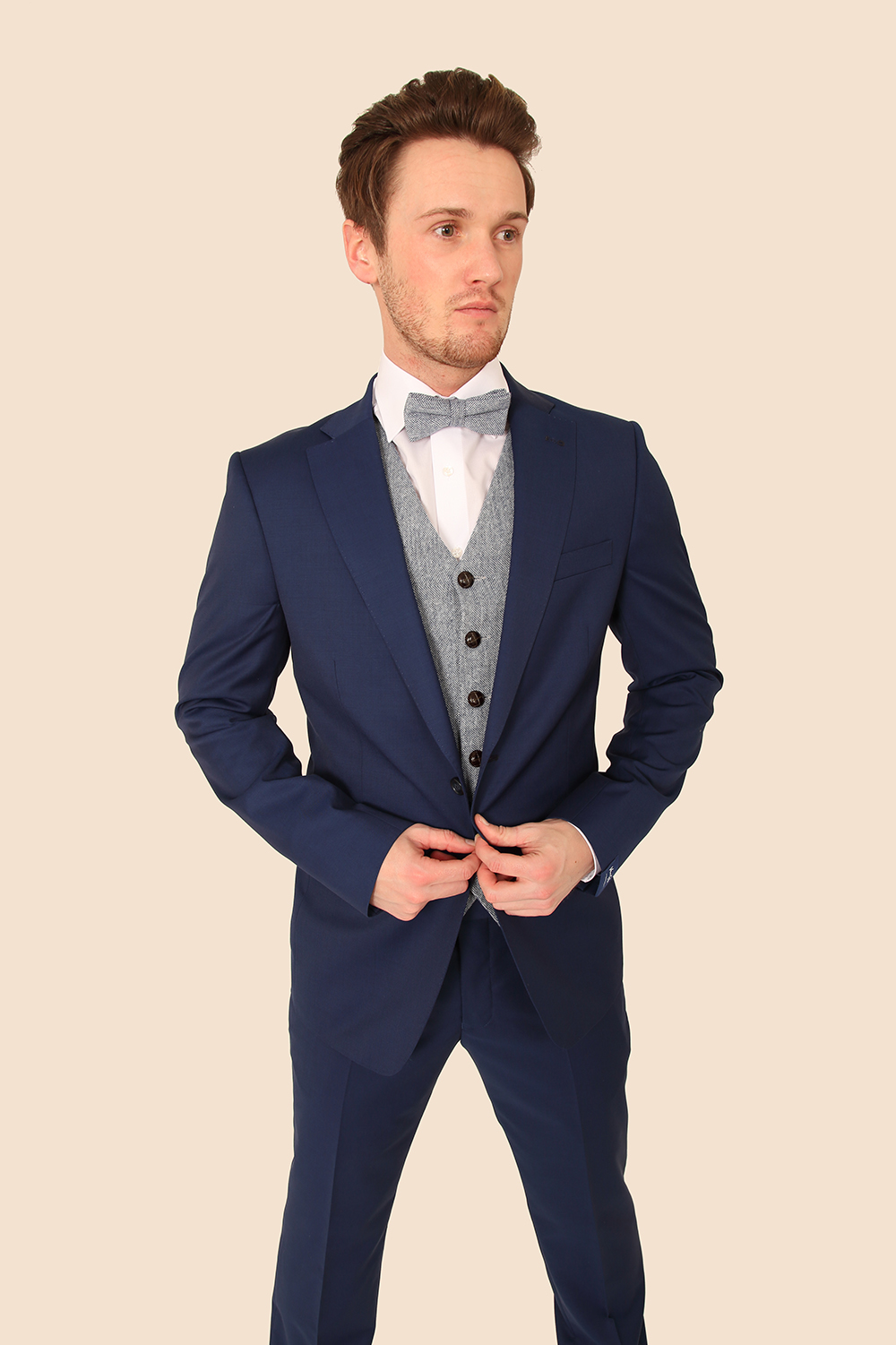 Buy suits in black, blue, grey and more from Charles Tyrwhitt of Jermyn Street, London. Choose from a range of cuts and styles to find your perfect suit.