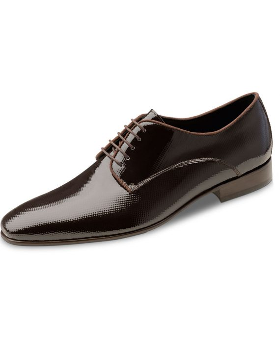 Brown textured shoe Wilvorst 2016 448310_60_Model-0221