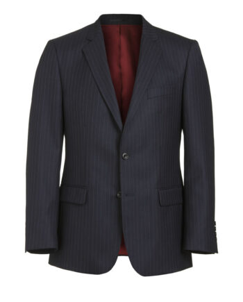 Navy Pinstripe 2 piece suit
