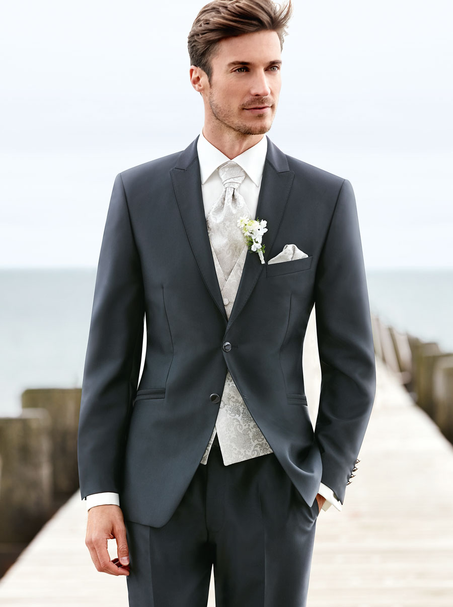 Anthracite Grey Wedding Suit - Tom Murphy's Formal and Menswear