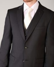 Van Gils Marzotto Grey 3 Piece Suit