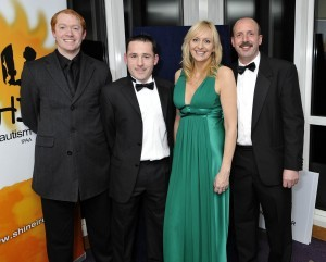 Miriam O'Callaghan with Tom Murphy and friends