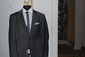Van Kollem grey suit