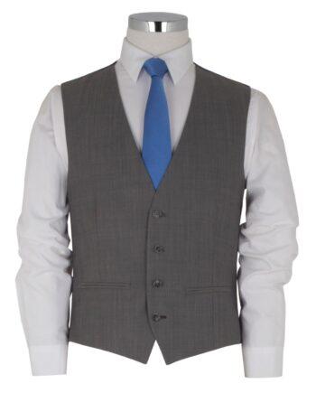 Silver Mens Waistcoat