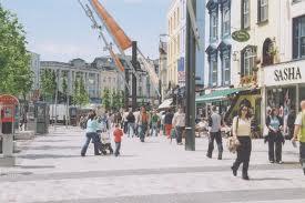 The all new shopper friendly Patrick street