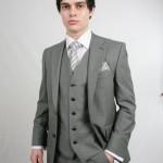 Silver Grey Scott 3 Piece Suit Hire