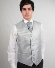Light Silver Stripe LLoyd Waistcoat