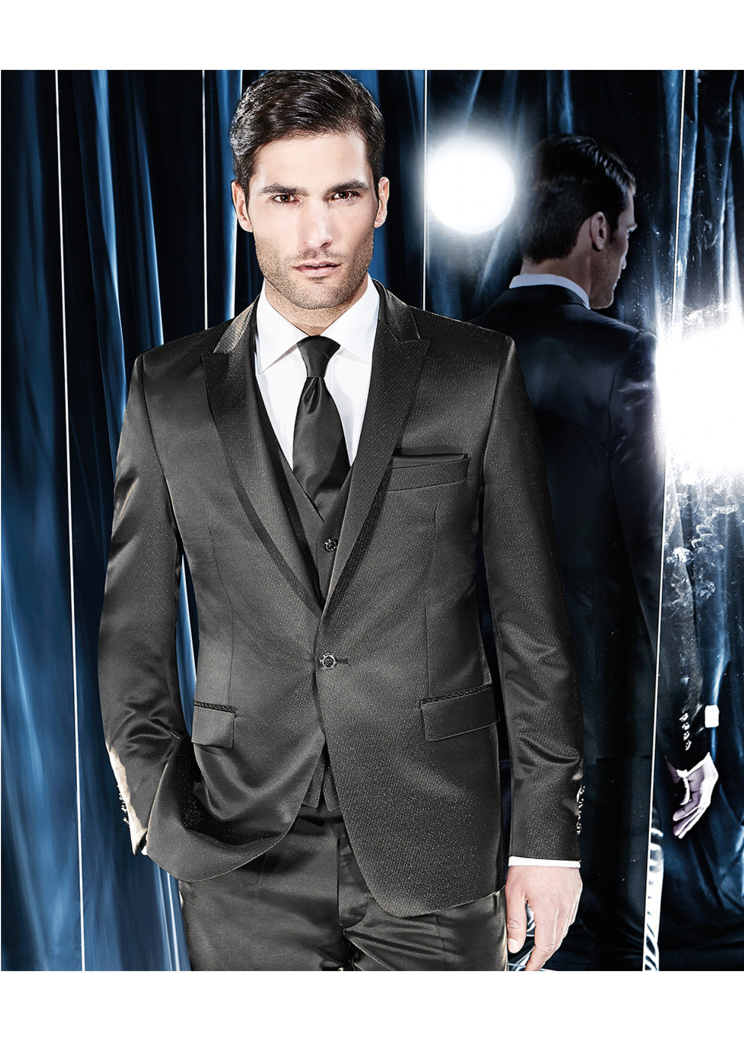 Speckled Brown Glossy Suit - Tom Murphy\'s Formal and Menswear
