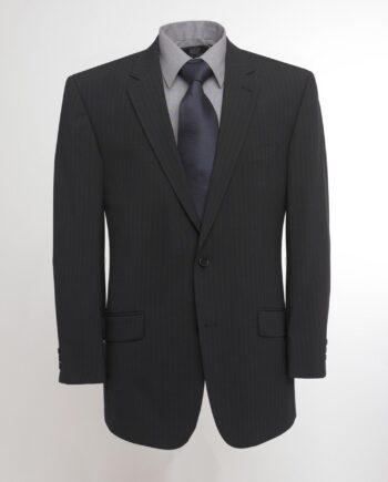 Oslo Navy Stripe Three Piece  Suit