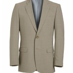 Beige Lightweight Summer Suit