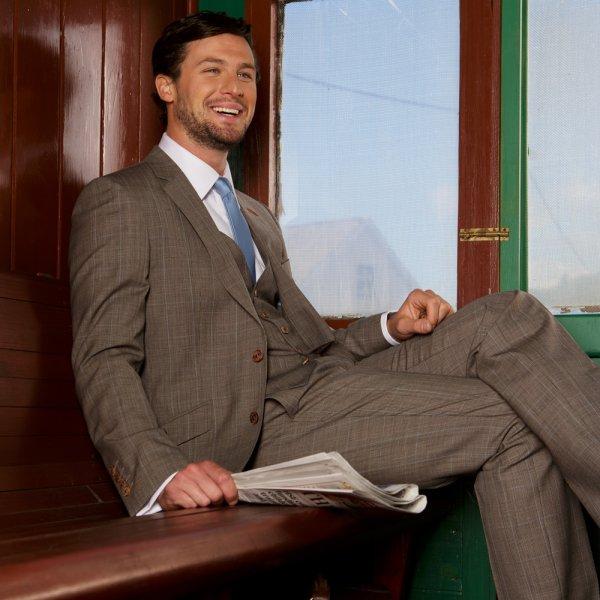 Magee tweed suit