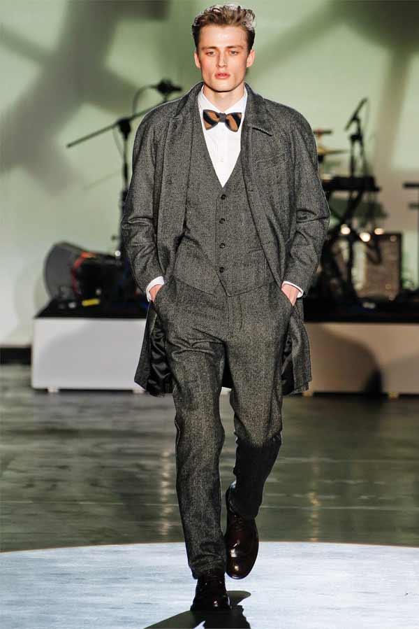 tweed fashion suit