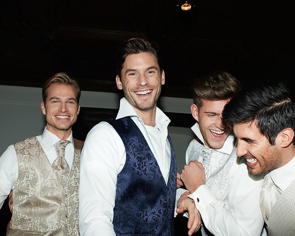 Waistcoats for gay weddings