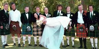 kilts wedding