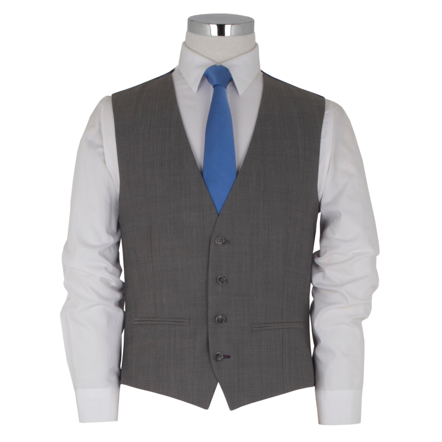 3 Piece Tailored Light Grey