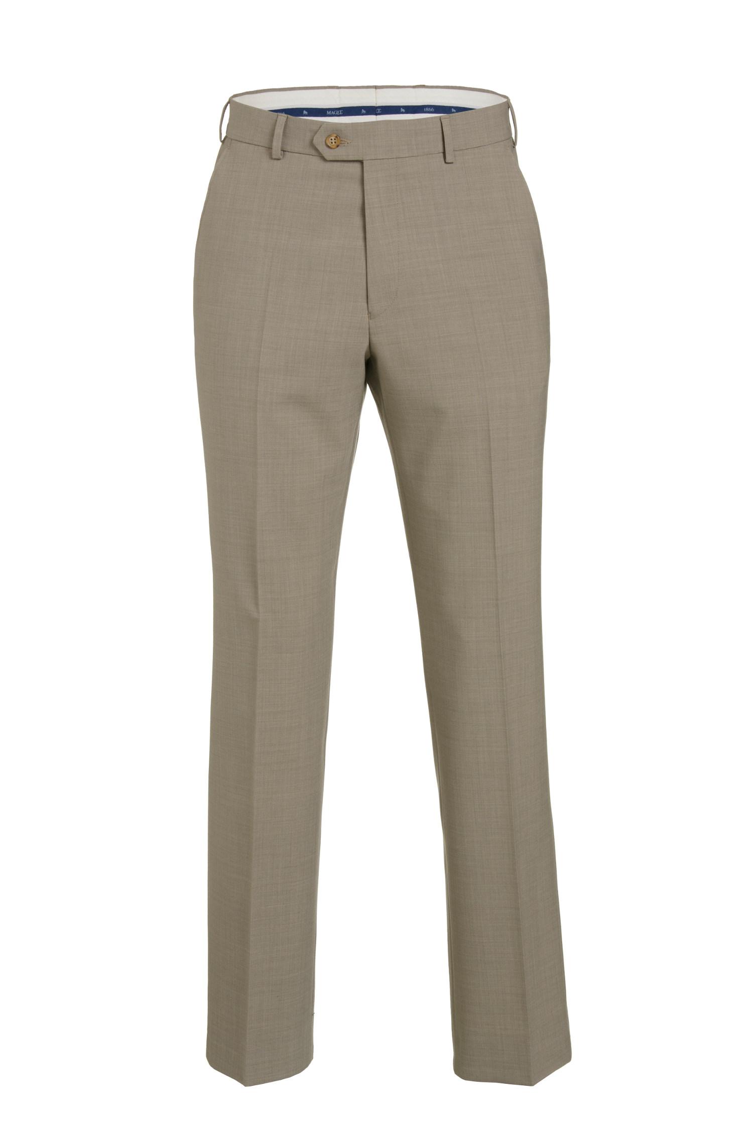 Beige Lightweight Summer Suit