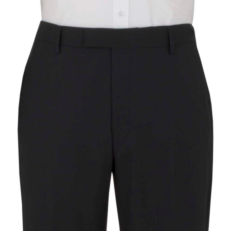 Black 3 Piece Suit Notch Lapel Waistcoat