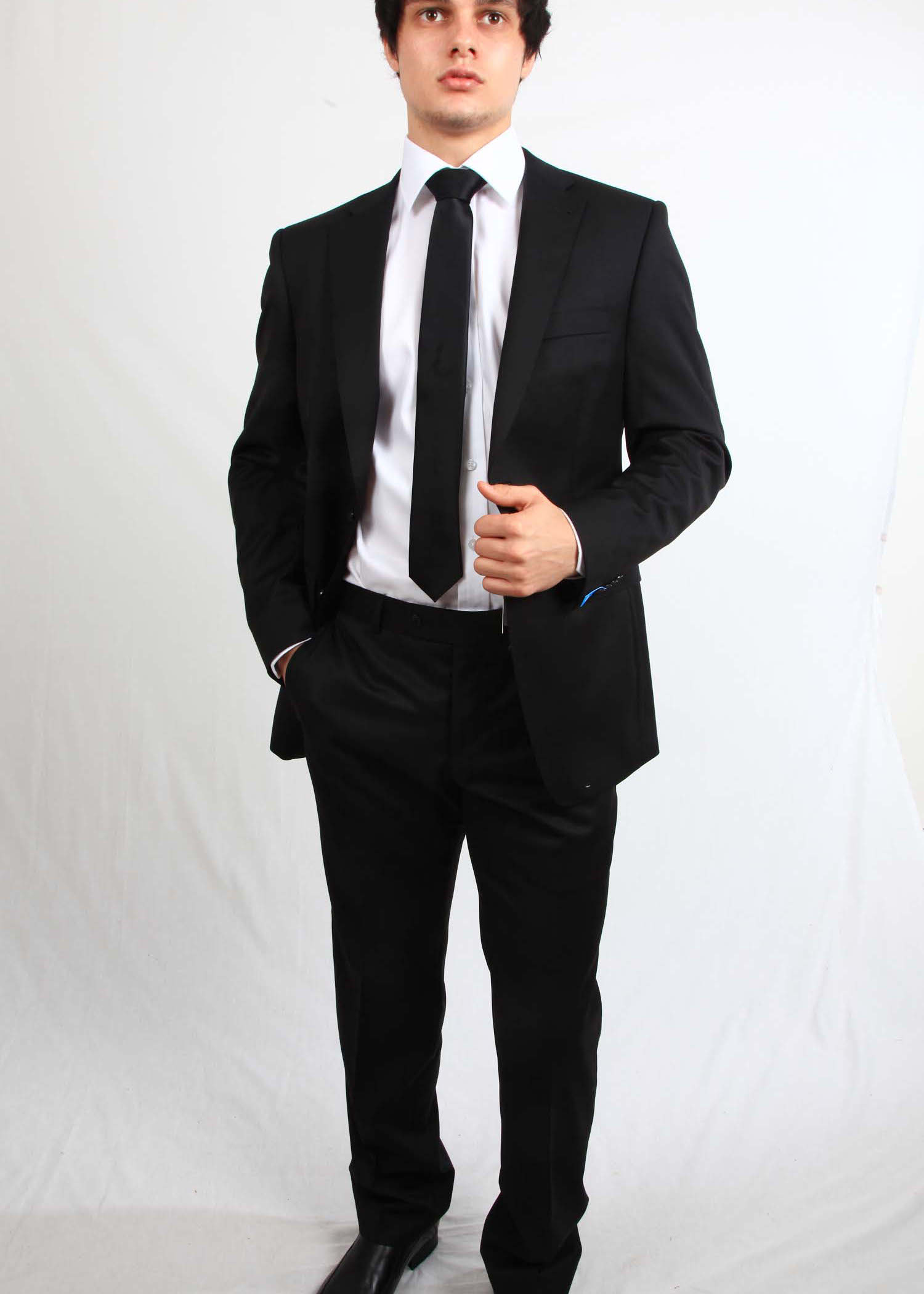 Black Lightweight Van Kollem Suit Tom Murphy S Formal