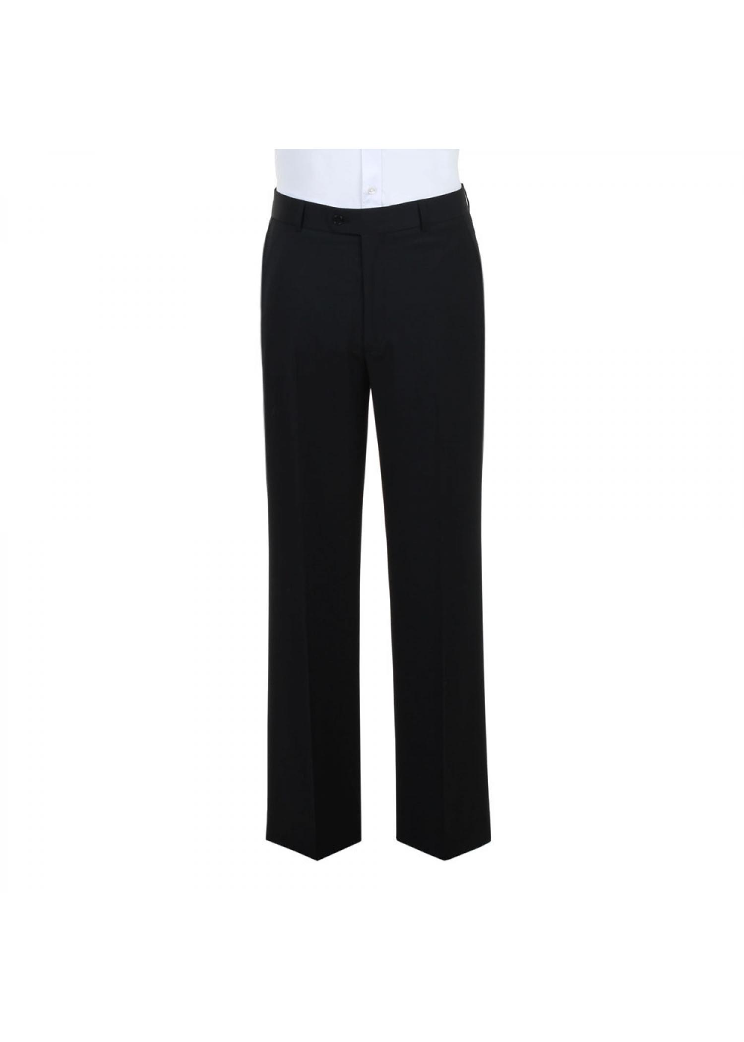 Black Machine Washable Trousers