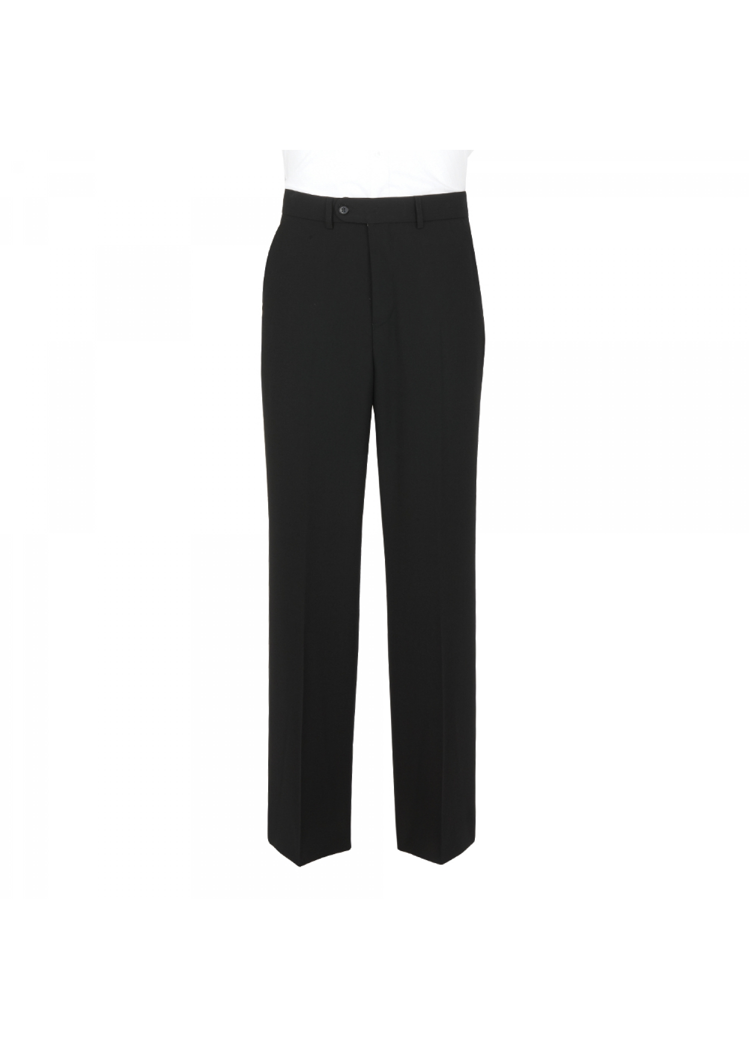 Wool Mix Black Trousers
