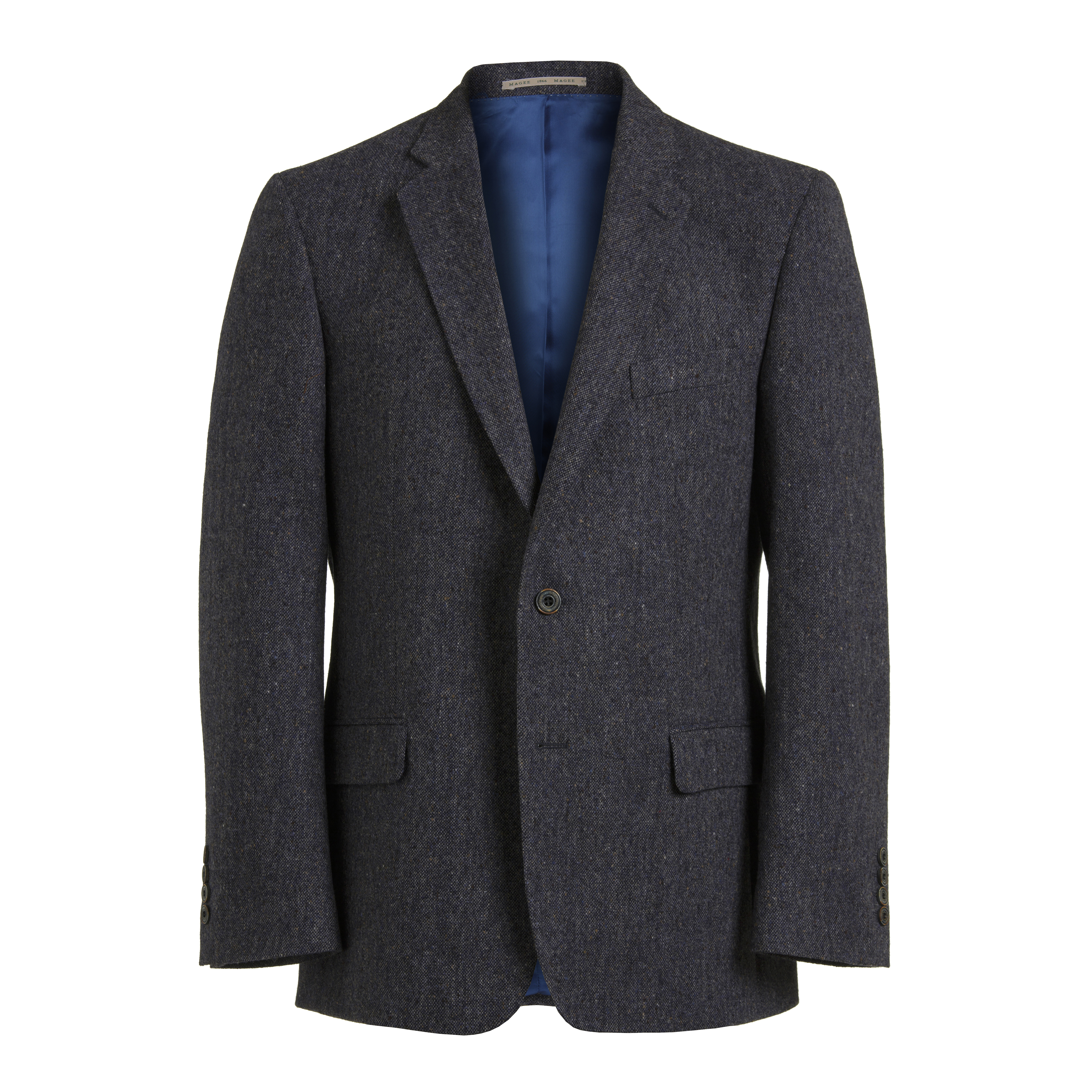 Blue Fleck Tweed Jacket