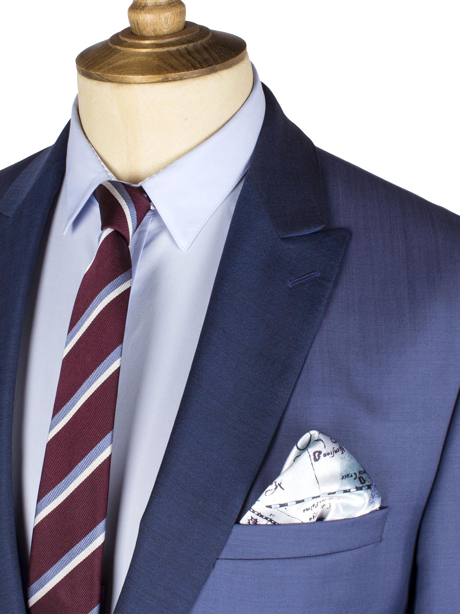 Blue Heather 2 Piece Suit