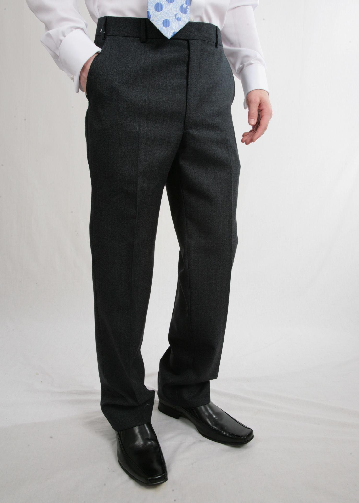 Blue Stripe Wool Suit