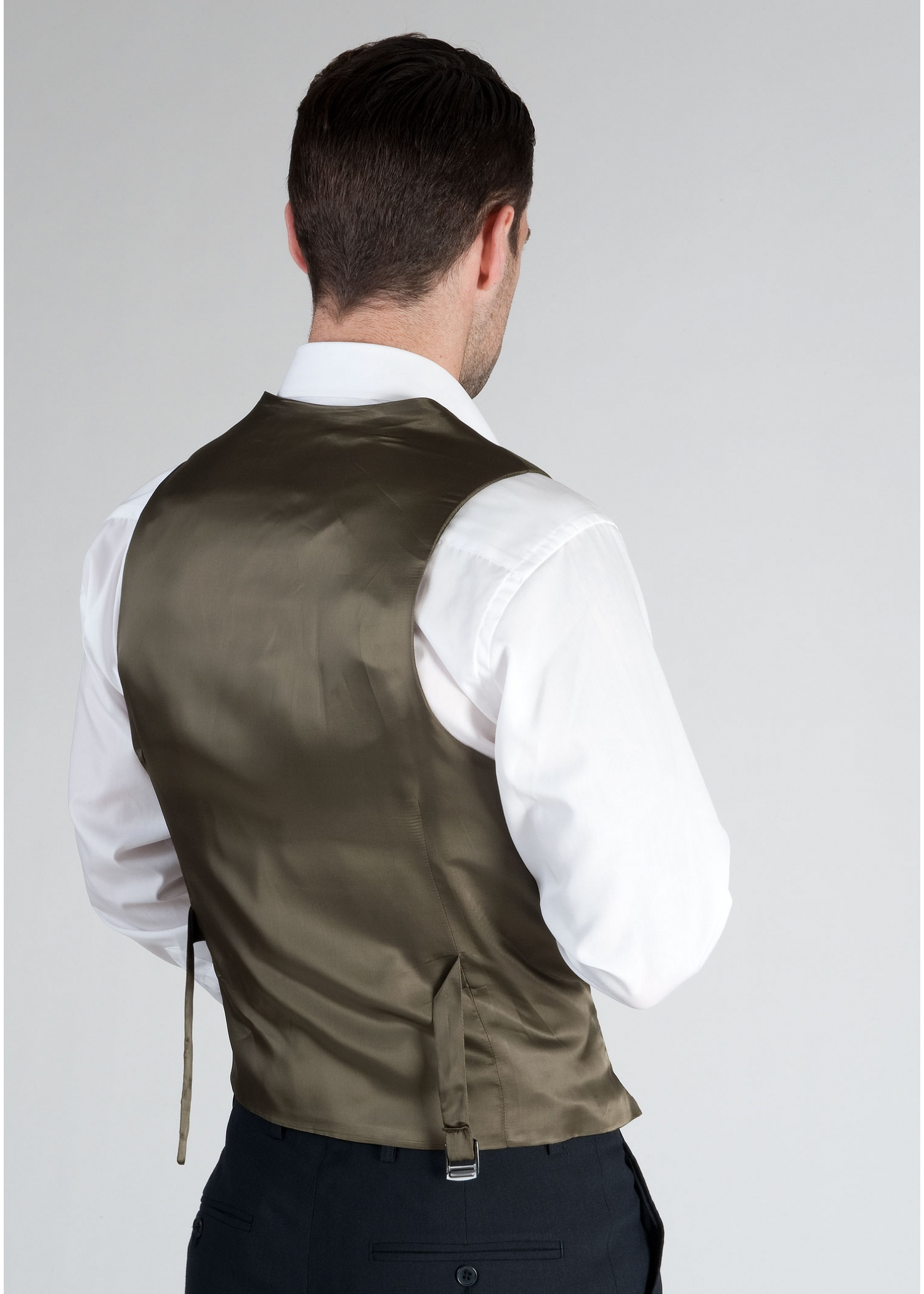 Green waistcoat