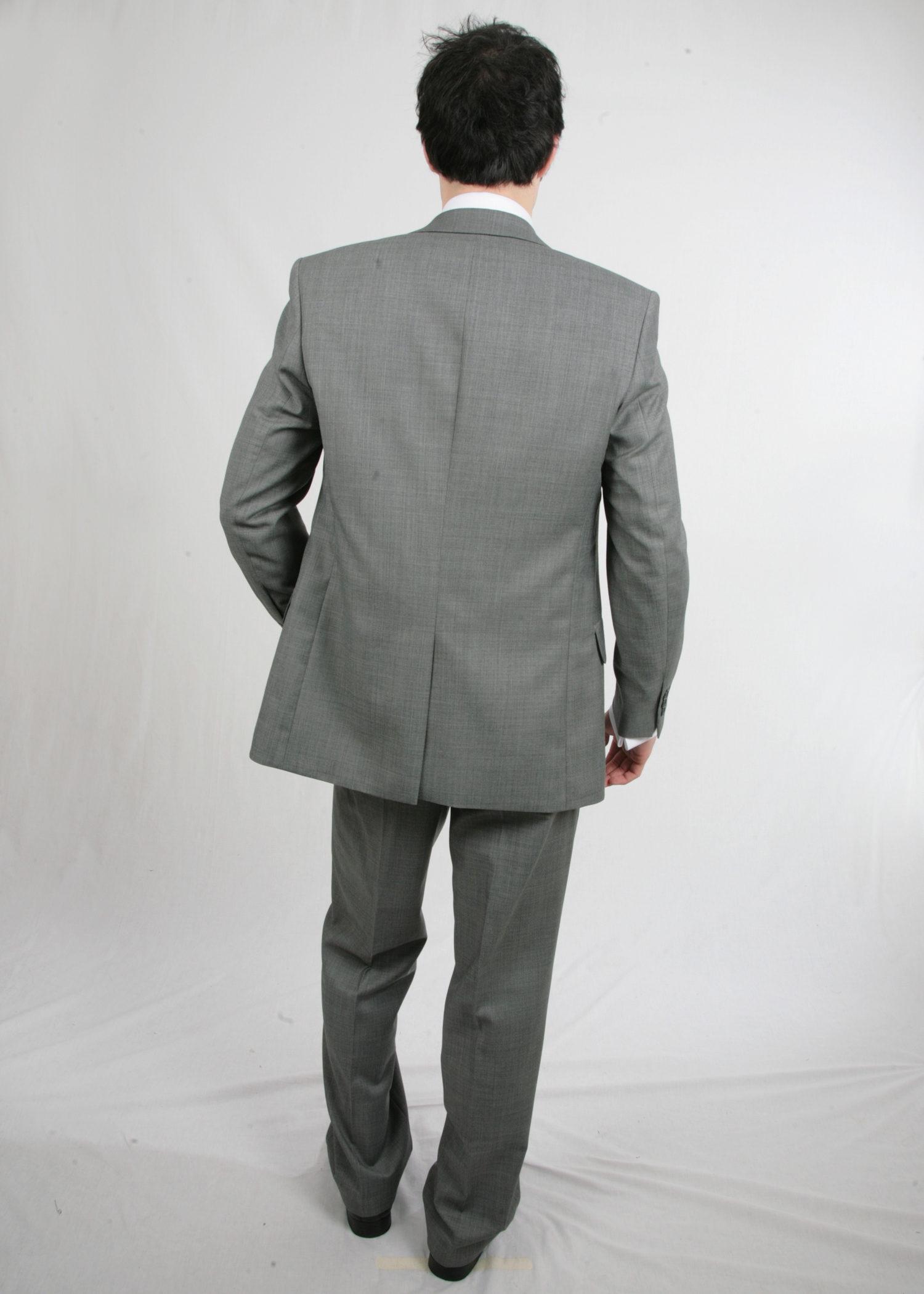 Grey Scott Suit with Waistcoat