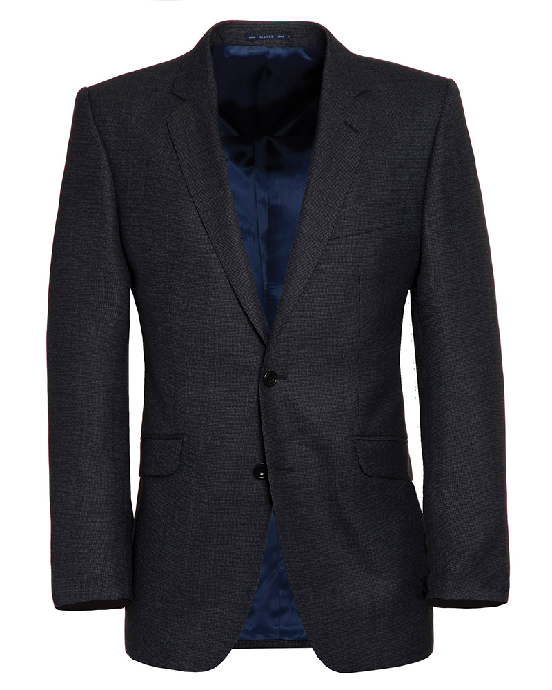 Grey/Black Micro pattern Jacket