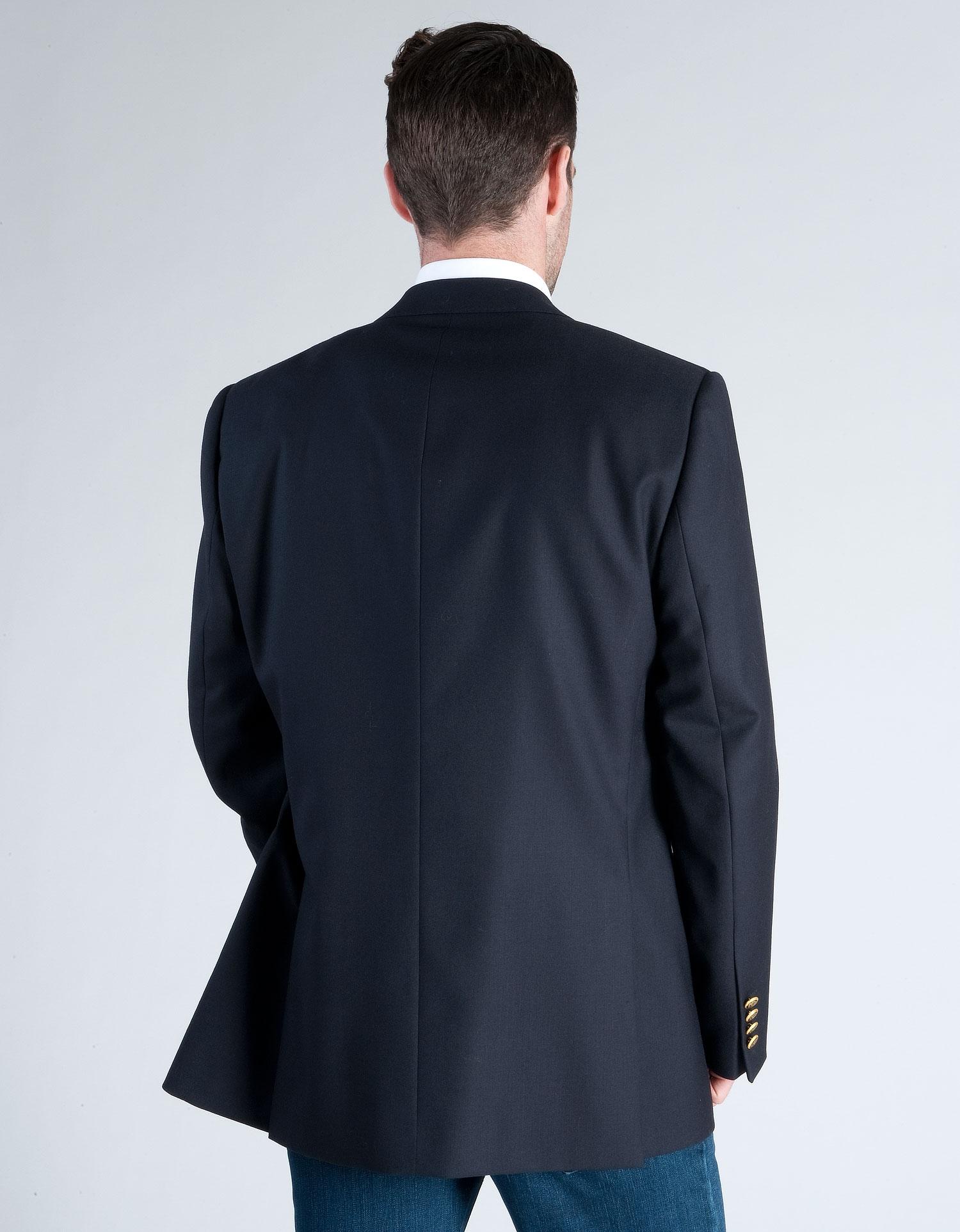 Lightweight pure wool blazer