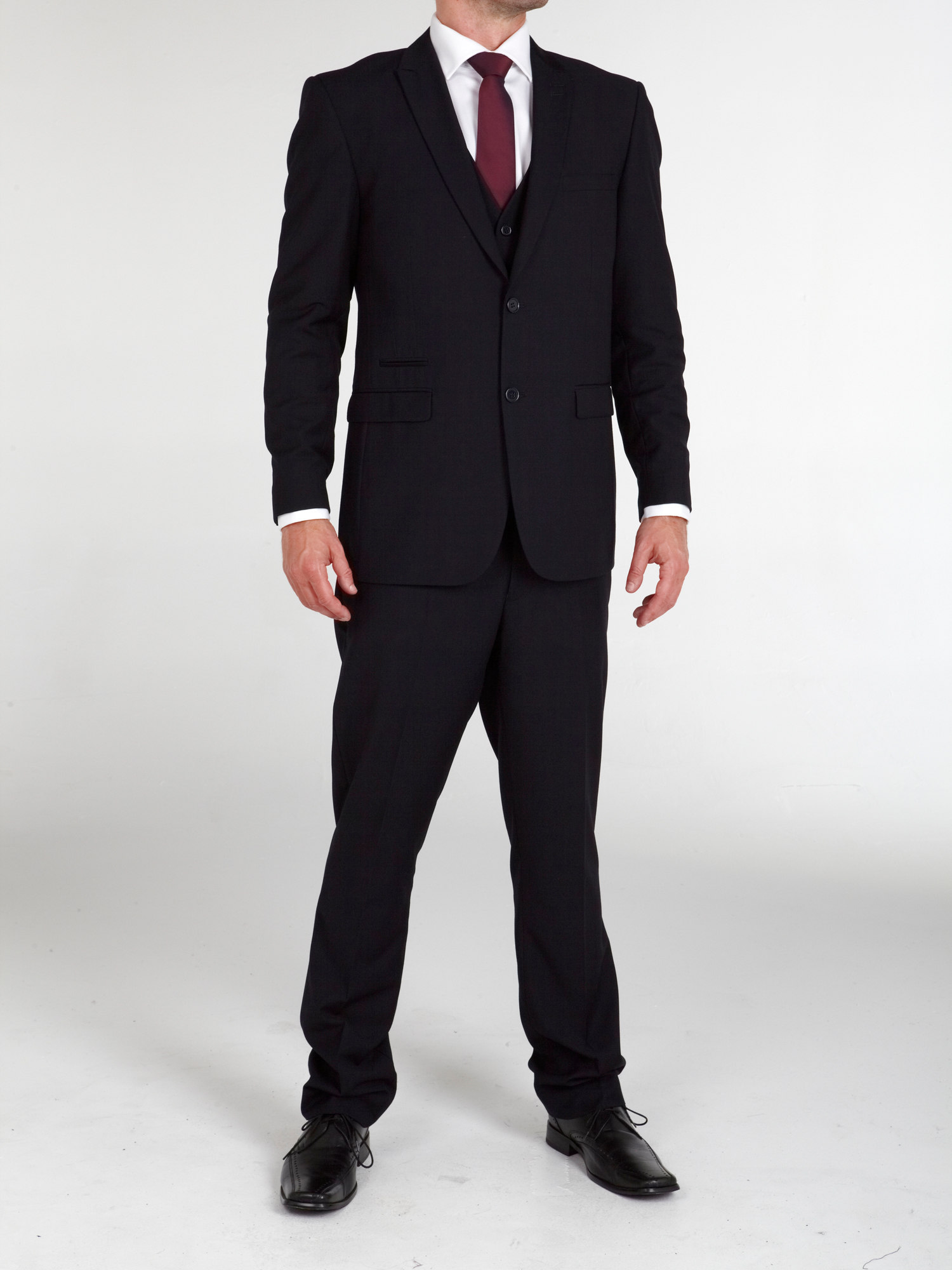 Madrid Charcoal 3 Piece Suit