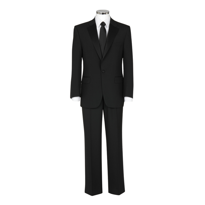 Black Scott Bestseller tuxedo with FREE BLACK BOW TIE