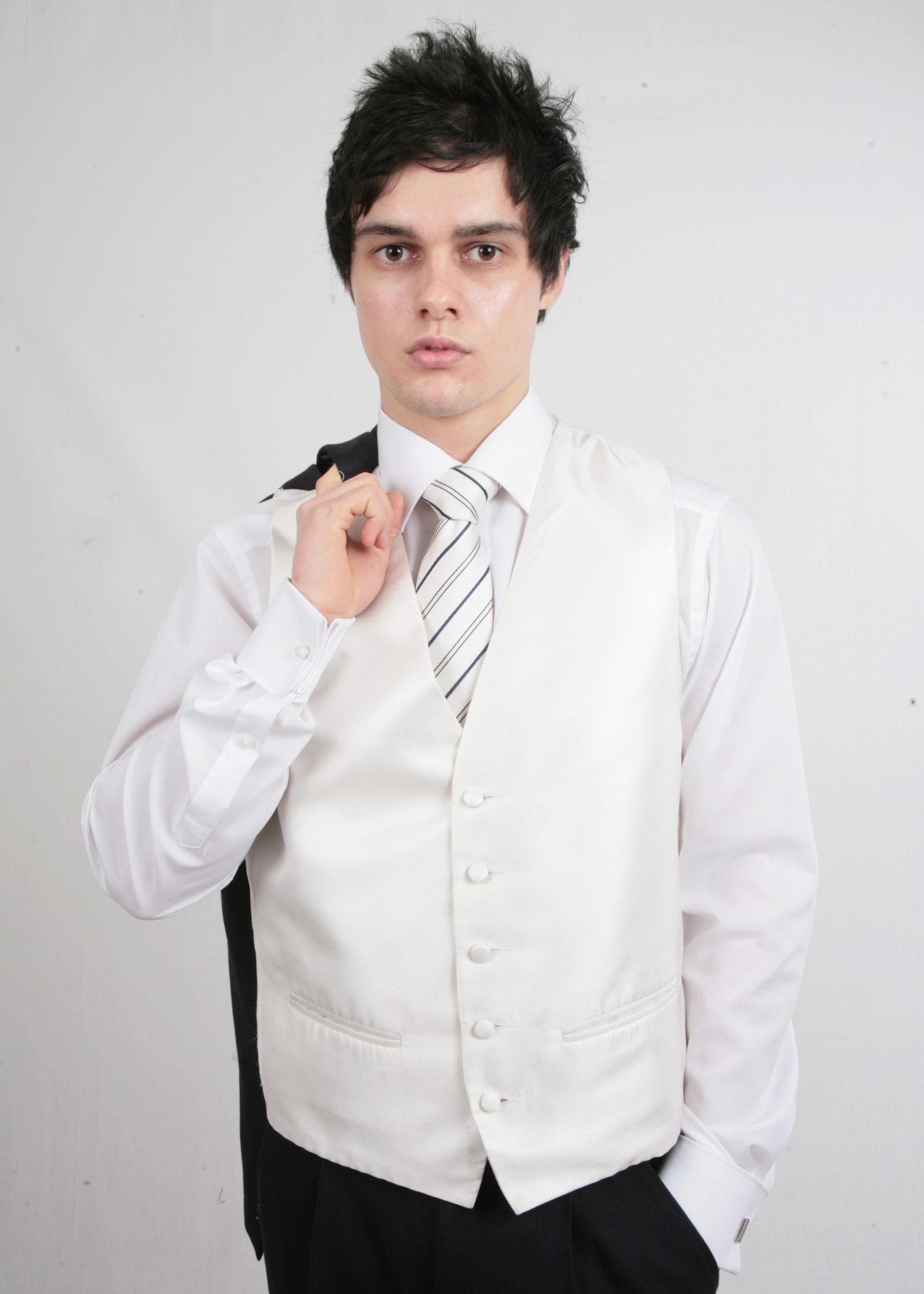 Navy Herringbone Morning Suit to Hire